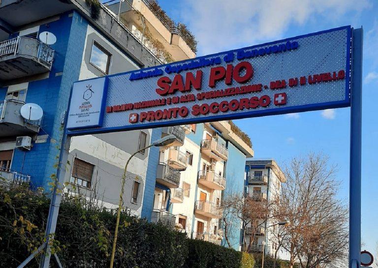 L'ospedale San Pio di Benevento