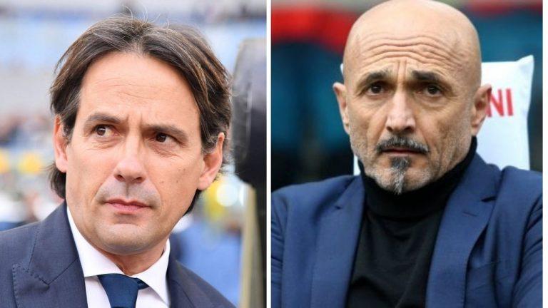 Serie A Simone Inzaghi e Spalletti