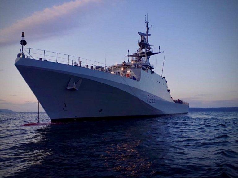 La motovedetta da guerra Tamar