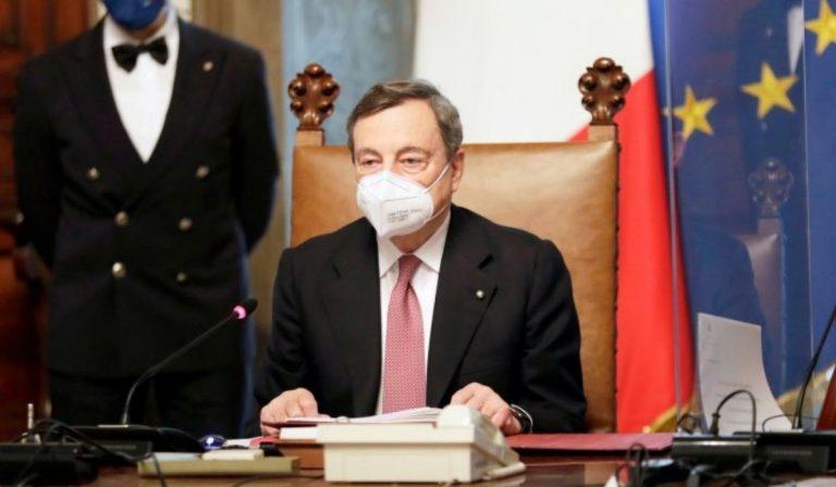 Vaccino covid appello Draghi