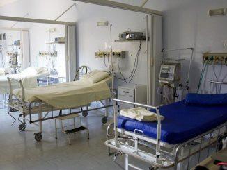 chiuso modulo ospedale fiera