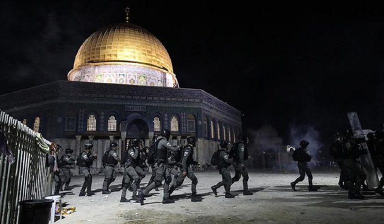 gerusalemme scontri israele palestina