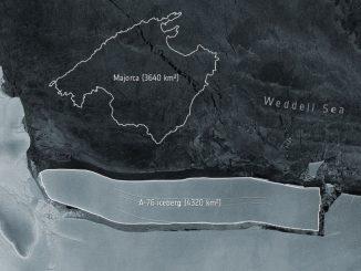 iceberg più grande del mondo