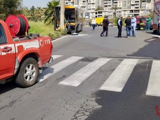Incidente autobus a Catania