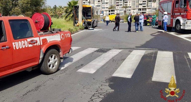 Incidente autobus a Catania