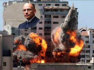 Enrico Letta Palestina