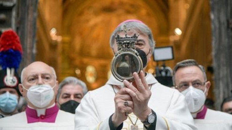 San Gennaro: il prodigio non si è compiuto, il sangue non si è liquefatto