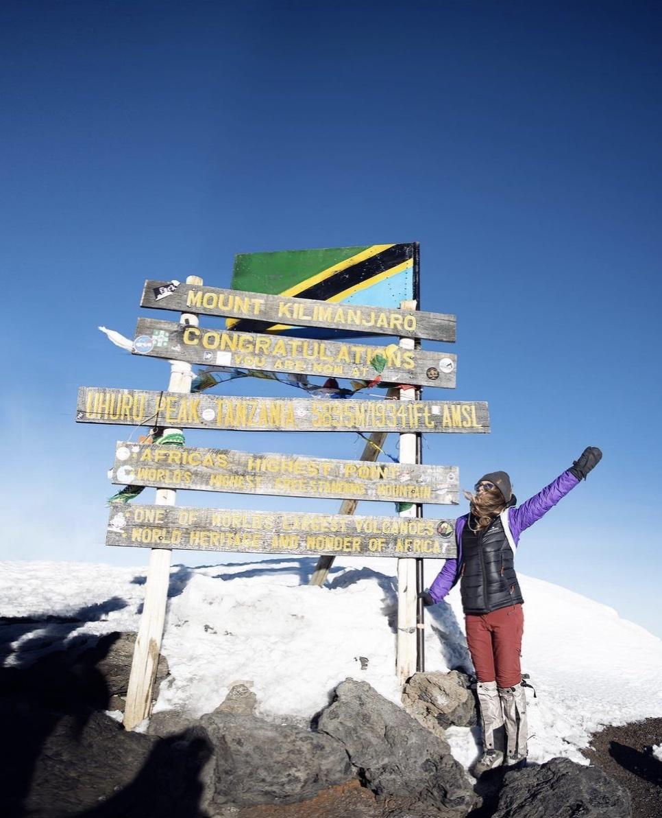 sara melotti kilimanjaro