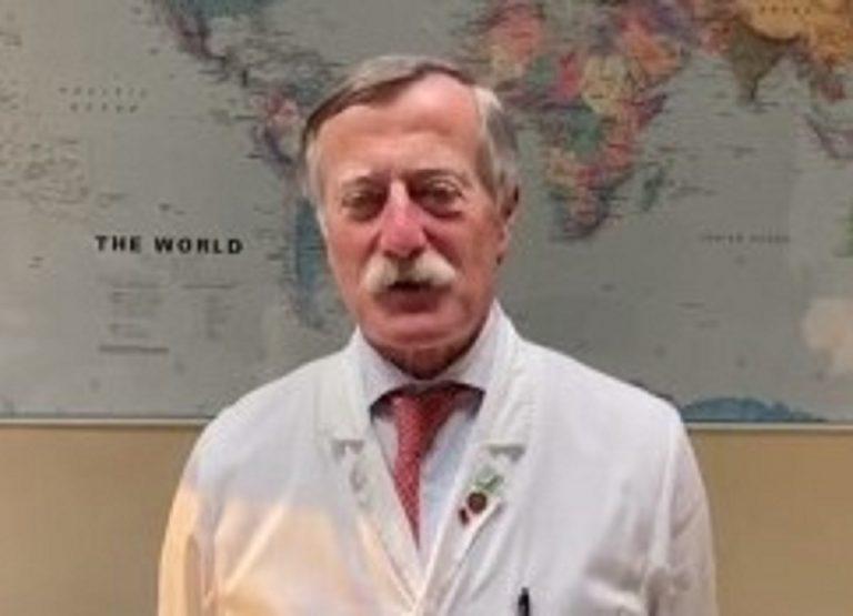 L'infettivologo Massimo Andreoni