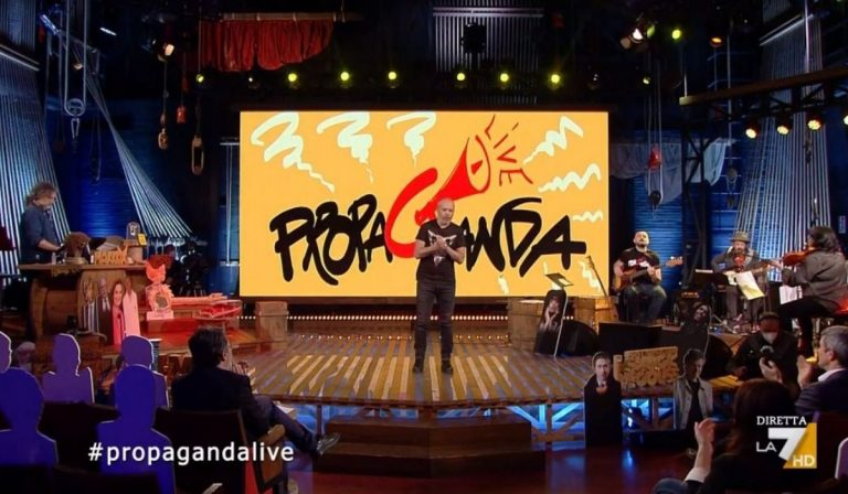 Angelini torna propaganda live