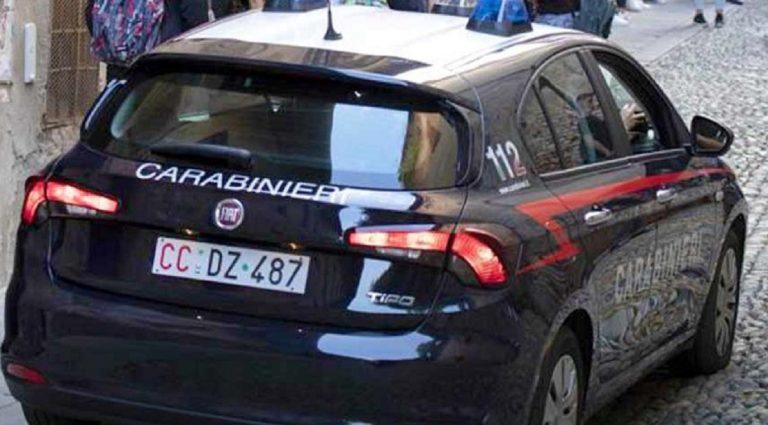 Sul caso indagano i Carabinieri