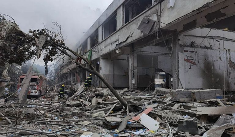 Cina esplosione Hubei
