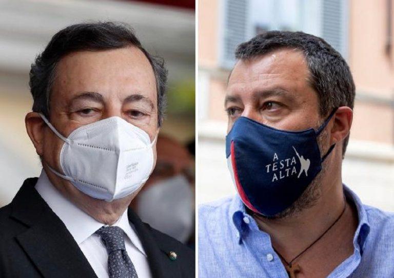 Draghi incontra Salvini: ecco cosa si sono detti