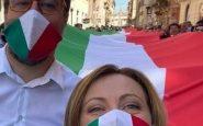 Giorgia Meloni e Matteo Salvini