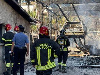 Incendio Giulianova
