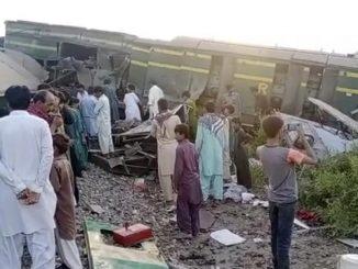 Incidente ferroviario Pakistan
