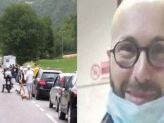 Incidente stradale Cagli