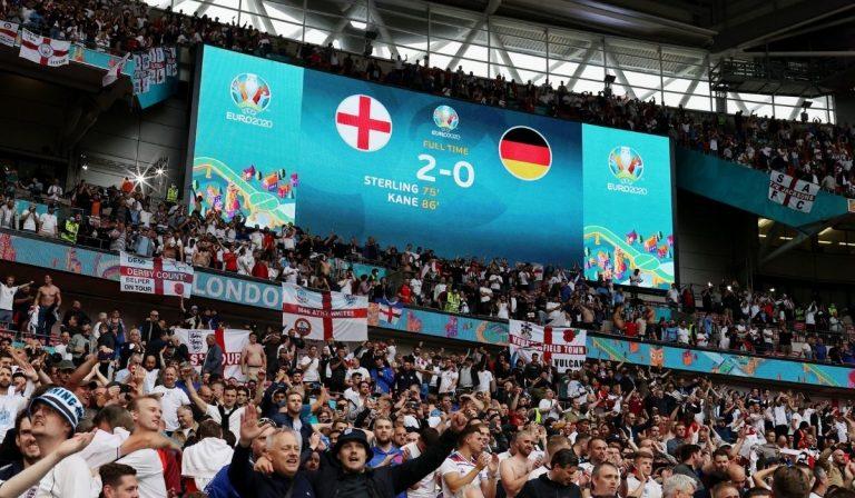 Inghilterra Germania Euro 2020