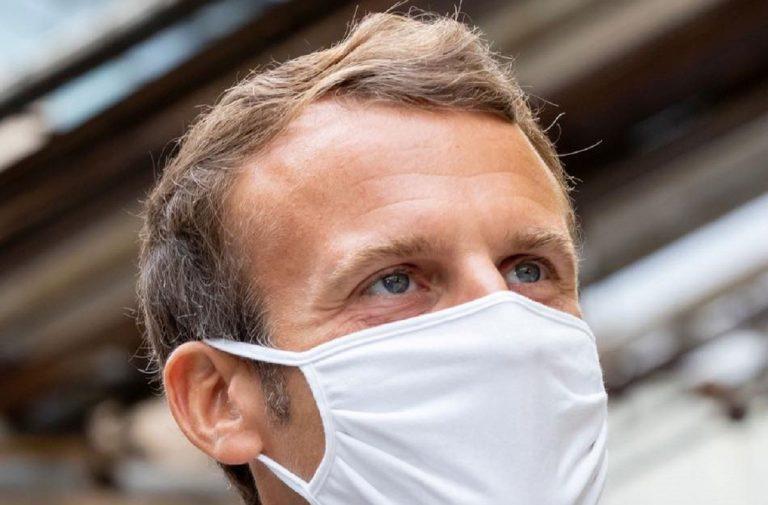 Il presidente francese Macron