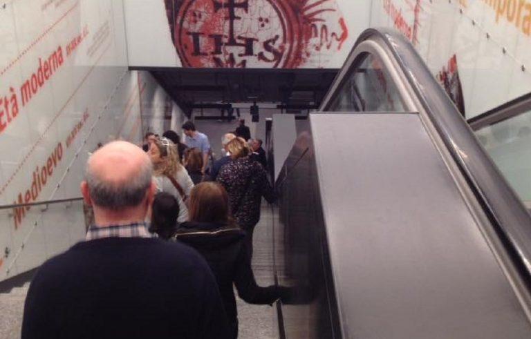 La stazione metro di San Giovanni