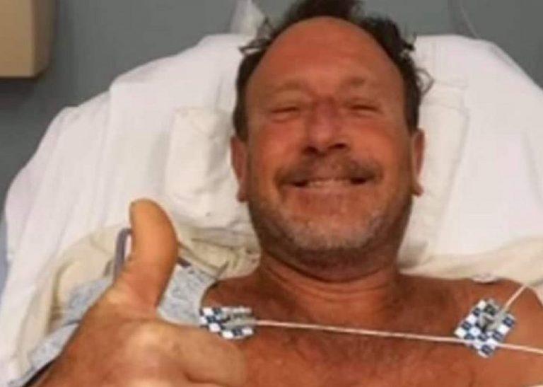 Michael Packard in ospedale