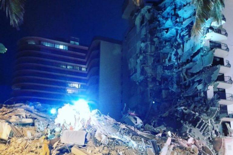 Palazzo crollato Miami