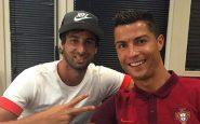 Cristiano Ronaldo e Miguel Paixao