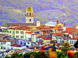 Veduta di San Bartolomeo in Galdo
