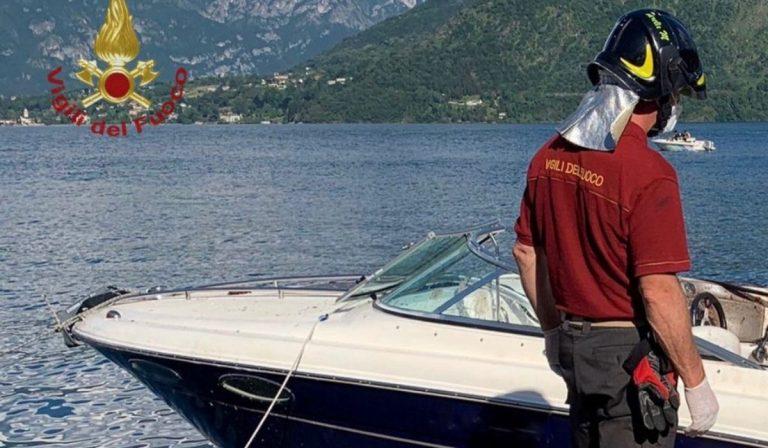 Scontro barche Lago di Como