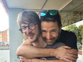 A sx Davide Tonelli con Pablo Trincia
