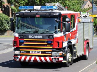 Vigile del fuoco incidente