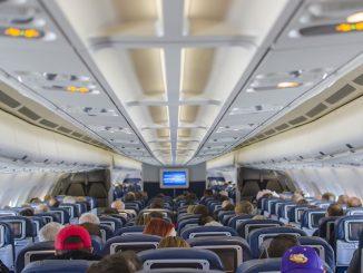 cabina aereo sensore covid