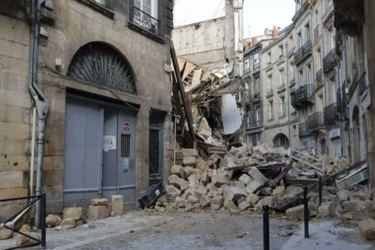Palazzi crollati Bordeaux