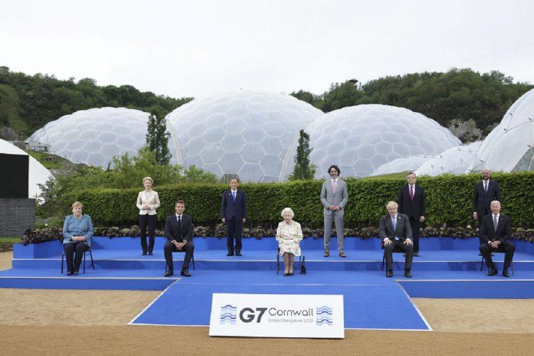 G7 Regina Elisabetta