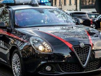 L'aggressore arrestato dai Carabinieri