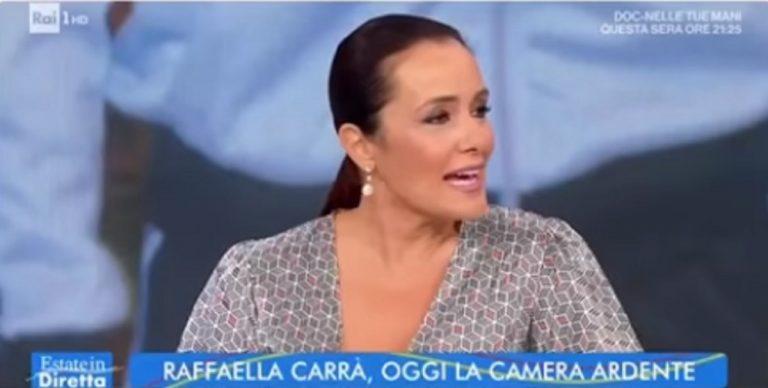 """Roberta Capua durante la trasmissione """"incriminata"""""""