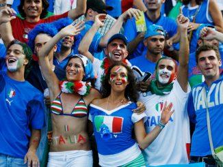 Una giovanissima Chiara Appendino alla finale dei Mondiali 2006