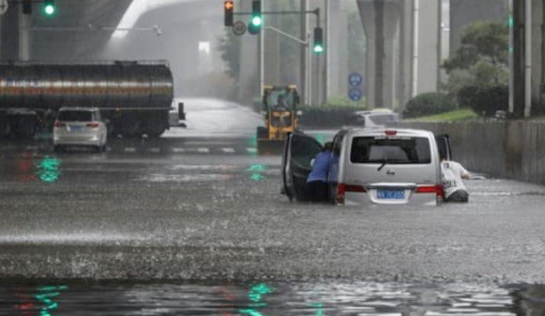 Inondazioni Cina morti