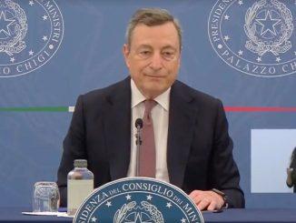 Draghi conferenza stampa