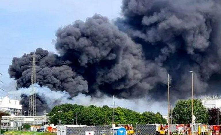 Esplosione impianto chimico Germania