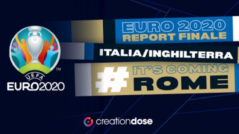 Finale europei dati social