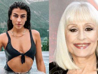 Giulia Salemi Raffaella Carrà