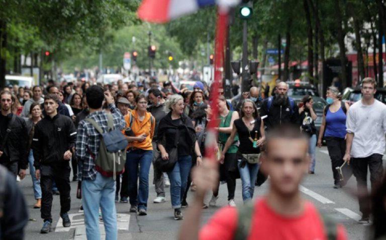 Green pass proteste Francia