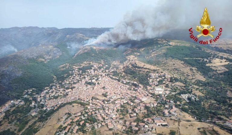 Incendi Sardegna stato emergenza