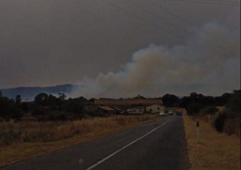 Incendio Abbasanta