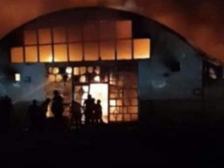 Incendio Covid hospital Iraq