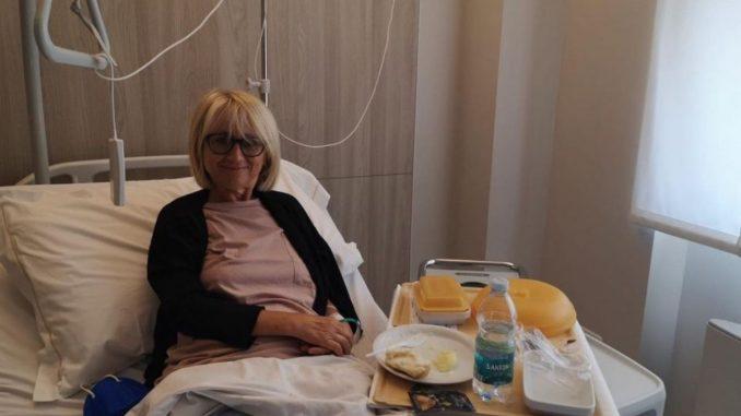 Luciana Littizzetto ospedale