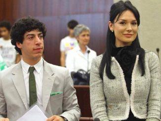 Renzo Bossi e Nicole Minetti