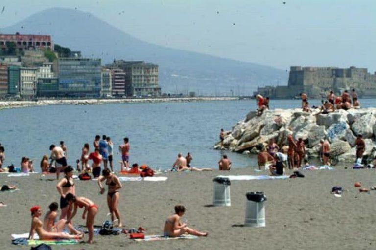 La spiaggia dove è avvenuto il salvataggio