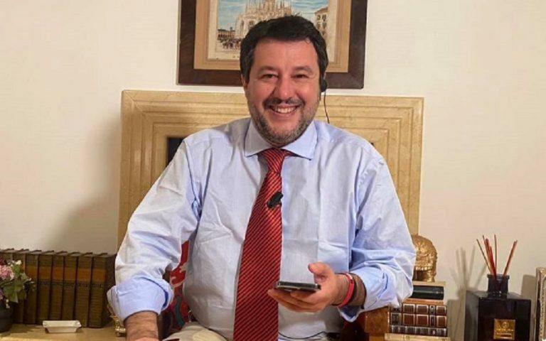 Salvini commenta la vicenda del carcere di Santa Maria Capua Vetere